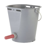Feeding Bucket with Screw Valve