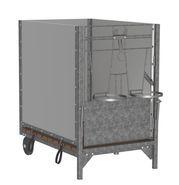 Calf box