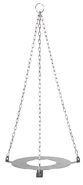 Hanging bracket for udder cloth buckets