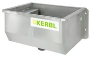 Stainless Steel Water Trough, heatable