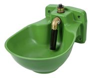 Heatable Plastic Water Bowl with HP20 Pipe Valve, 24 V
