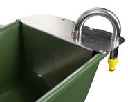 Long Feeding Trough with Float Valve