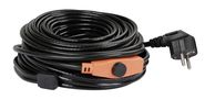 Frost-Protection Heating Cable with Thermostat, 230 V
