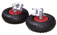 Stabilising Wheels for Wheelbarrow