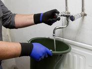 Fine Knit Glove Agua