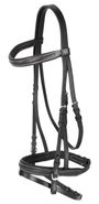 Exclusive Leather Snaffle Bridle