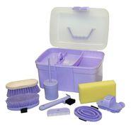 Putzbox befüllt, für Kinder