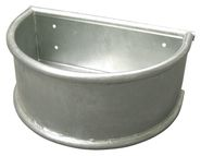 Round Trough galvanized