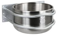 Feeding Trough Stainless Steel, round