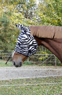 Fliegenschutzmaske Zebra