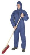 Disposable Coveralls, blue