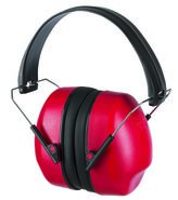 Headphone hearing protection, foldable