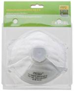 Feinstaubmaske FFP2 NR D mit Ventil