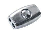Rope and Wire Connector, galvanized