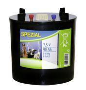 Spezial-Batterie, rund