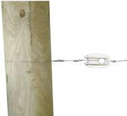 Abspannisolator Polyamid für Stahldraht