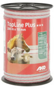TopLine Plus Fence Tape white/red