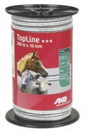TopLine Fencing Tape White/Black