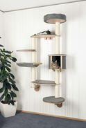 Wall-Mounted Cat Tree Dolomit XL Tofana