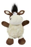 Shaggy Esel