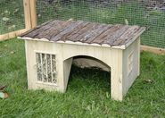 Rodent cabin with Hay Rack Nature