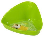 Ecktoilette für Hamsterkäfige