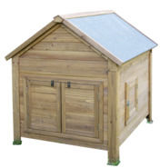 Small Animal Hutch for Rabbits or Hens