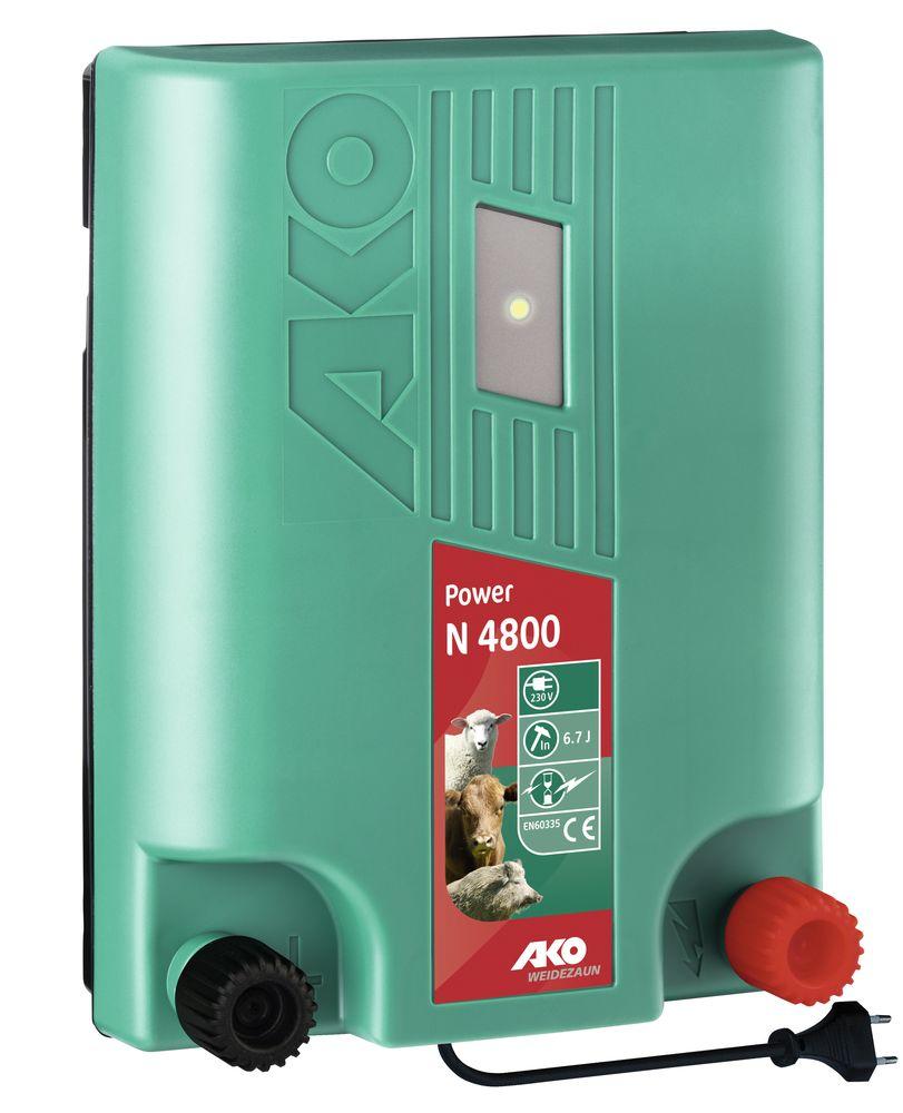 Etwas Neues genug Power N 4800 - Weidezaungeräte - 230 Volt Netzgeräte - 230 Volt Ne @SB_74